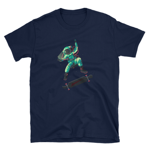 Space Selfie Short-Sleeve Unisex T-Shirt