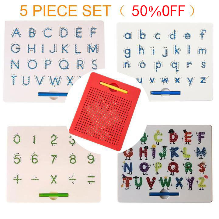 Children Magnetic Alphabet Learner