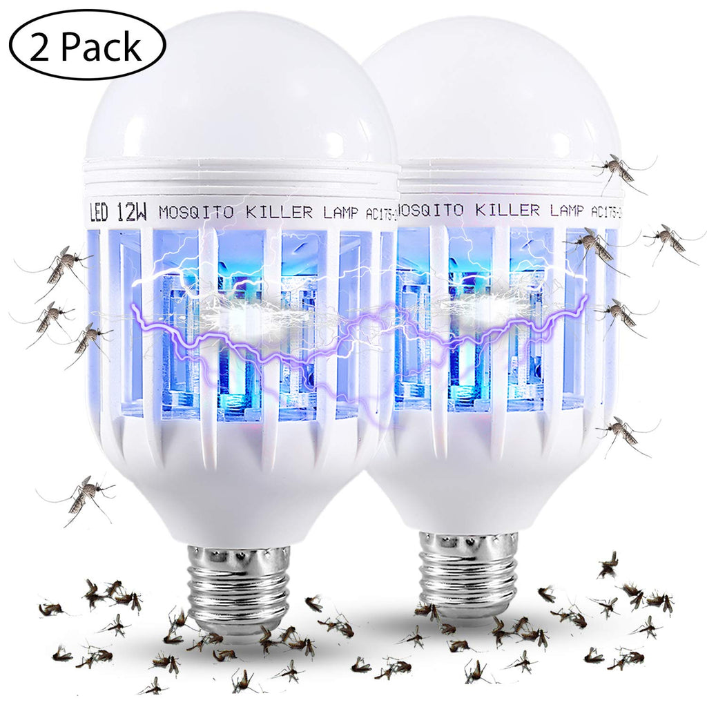 Mosquito Killer LED Bulb (2 Pack)