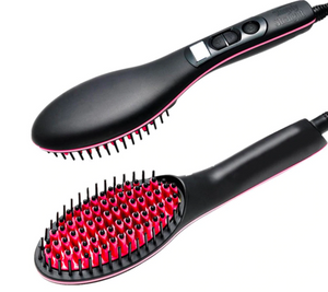 SIMPLY STRAIGHTENER ELECTRIC HAIR BRUSH