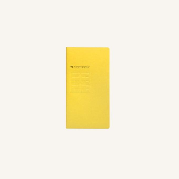 Daycraft Handy Pick Monthly Planner, Small - Yellow