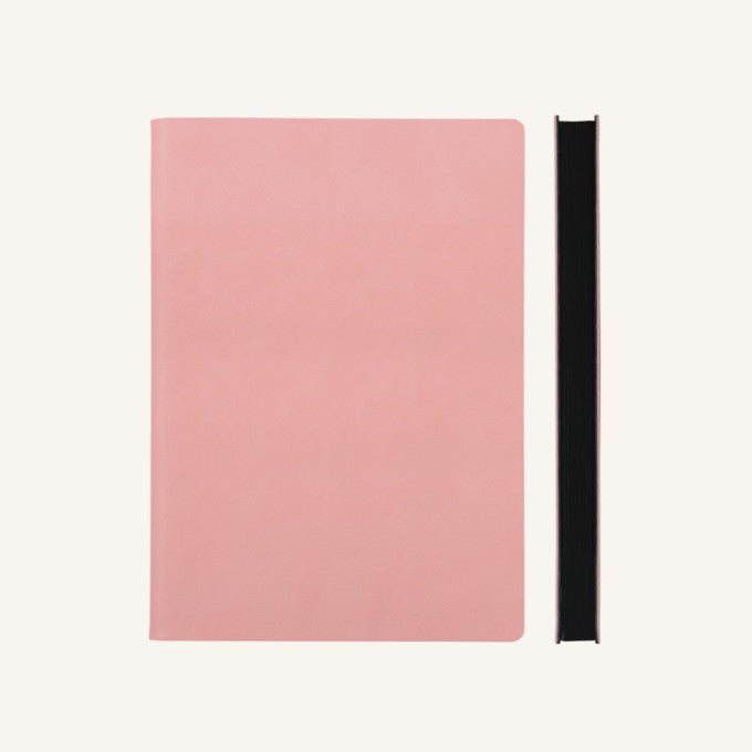 Daycraft Signature Grid Notebook – A5, Pink