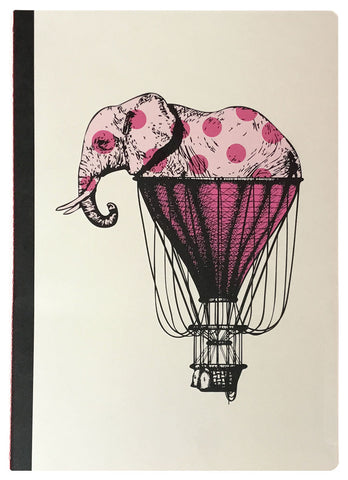 Elephant'r Notebook (A6, Lined)