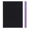 MEMMO FP Soft Touch Cover Dotted Notebook A5, Black/Purple