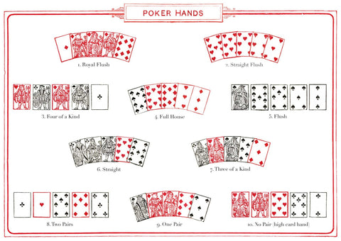 The Pattern Book Poker Hands