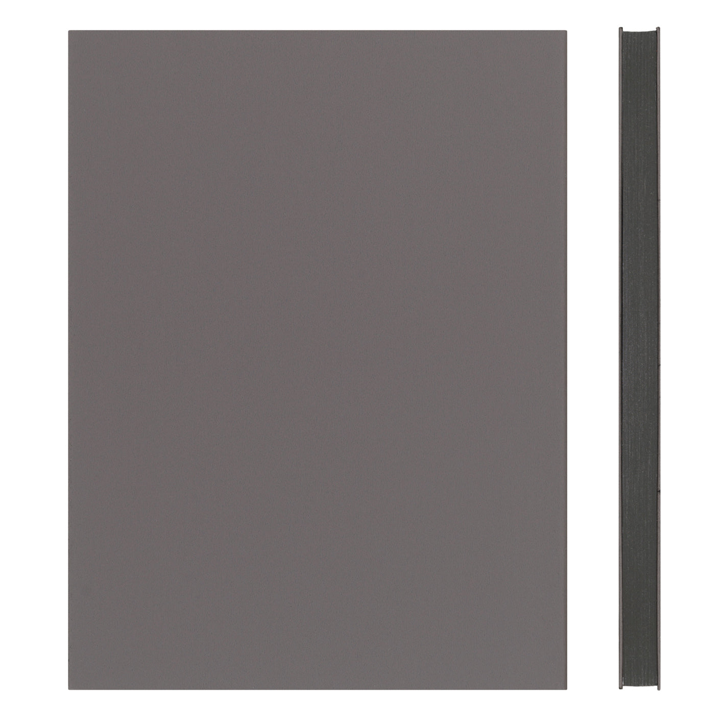 MEMMO FP Soft Touch Cover Lined Notebook A5, Charcoal