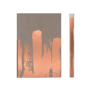 Daycraft A5 Signature Paint Art Plain Notebook - Copper