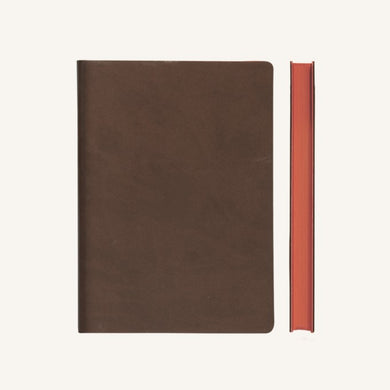 Daycraft Signature Lined Notebook – A6, Brown