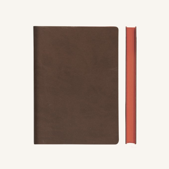 Daycraft Signature Grid Notebook – A5, Brown