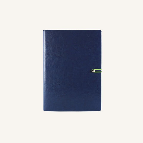 Executive 2021 Page-A-Day Diary (A6, Dark Blue)