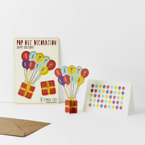 The Pop Out Card Company Pop Out Happy Birthday Card