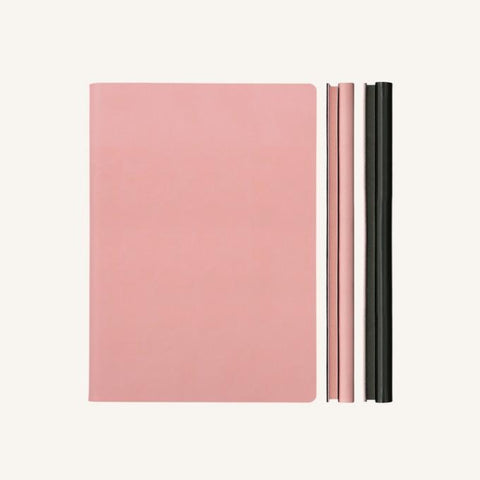 Daycraft Signature Duo Notebook - Pink / Black