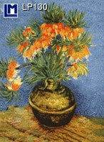 Lenticular Animation Postcard, Van Gogh Flowers