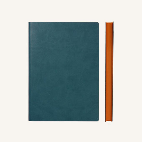 Daycraft Signature Grid Notebook - A5, Green