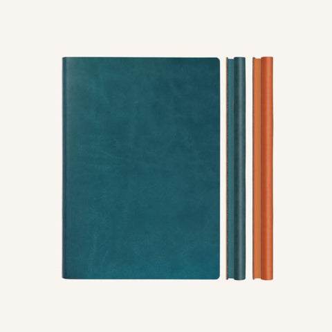 Daycraft Signature Duo Notebook - Green / Orange