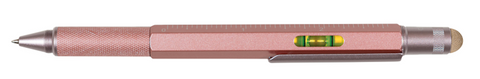 MEMMO MEMMO Level Stylus Tool Pen, Pink