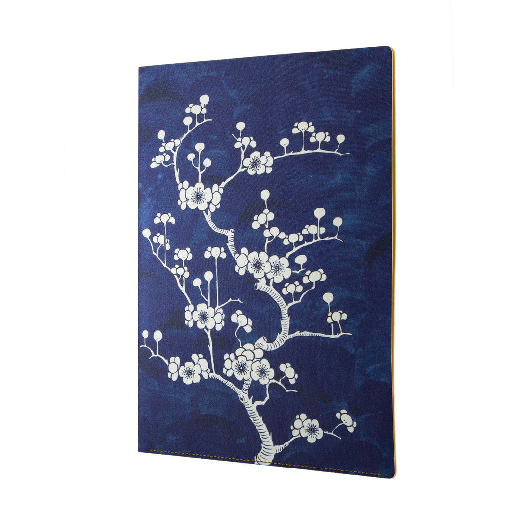 Daycraft Flower Wow Document Holder, A4, Ceramic Blue