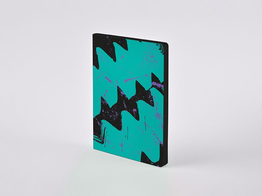 High Frequency Colour Clash L Light Dotted Notebook, A5