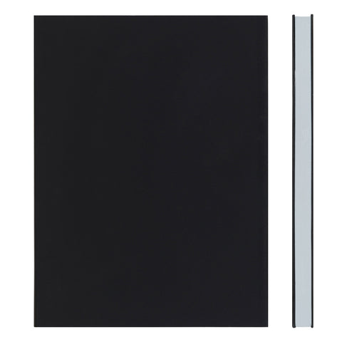 MEMMO FP Soft Touch Cover Lined Notebook A5, Black/Grey