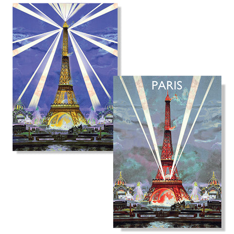 Cartes D'Art Paris 3D Postcard