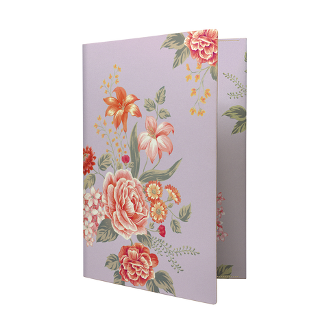 Daycraft Flower Wow Envelope Holder - A4, Mauve