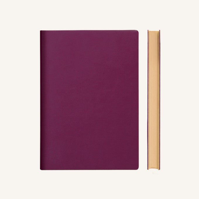 Daycraft Signature Grid Notebook – A5, Purple
