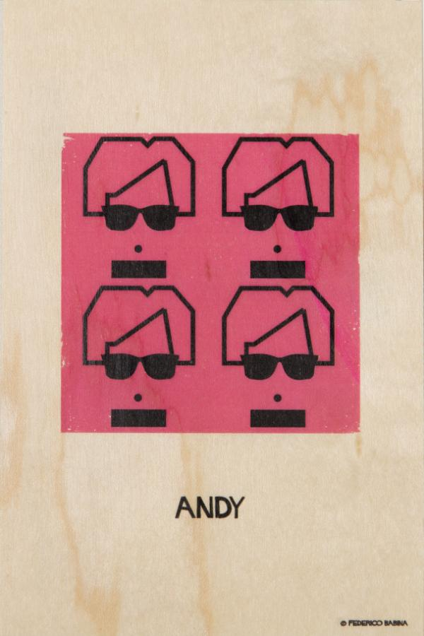 Woodhi Andy Warhol