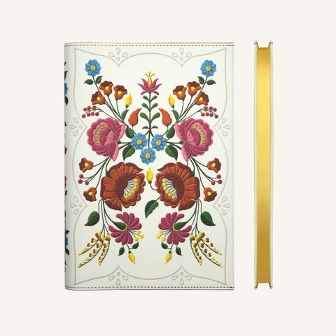 Flower Wow Lined Notebook (A5, Kalosca Marigolds)