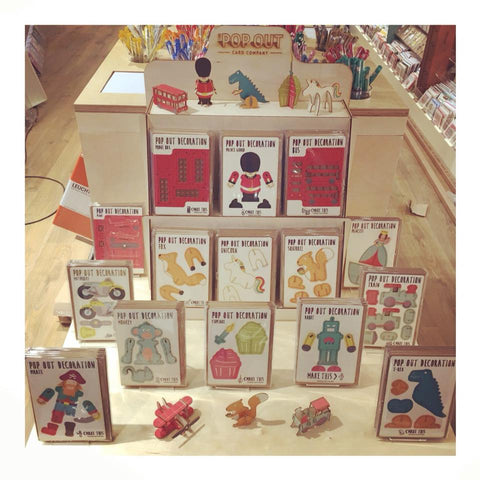 The Pop Out Card Company Stand