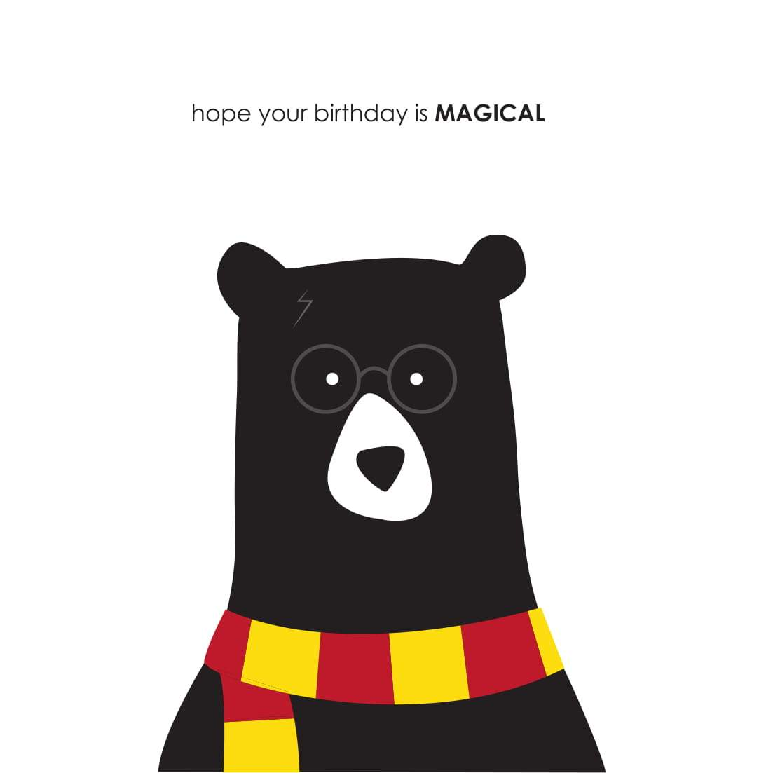 Heather Alstead Design Magical Birthday Card