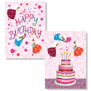 Cartes D'Art Happy Birthday 3D Postcard