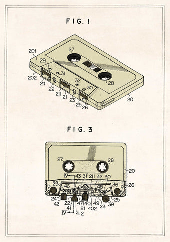 The Pattern Book Compact Cassette