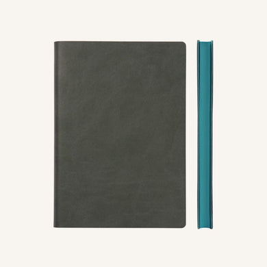 Daycraft Signature Lined Notebook – A6, Grey