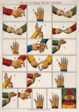 The Pattern Book Talking Fingers