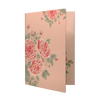 Daycraft Flower Wow Envelope Holder - A4, Tea Rose