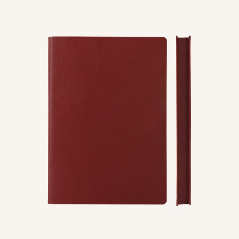 Daycraft Signature Grid Notebook – A5, Red