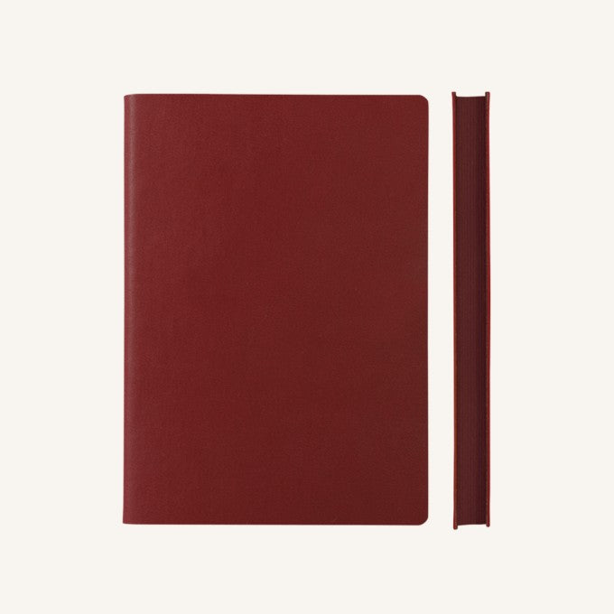 Daycraft Signature Dot Notebook - A5, Red