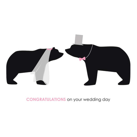 Heather Alstead Design Wedding Day Card