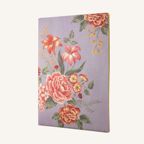 Flower Wow A4 Document Holder (Mauve)