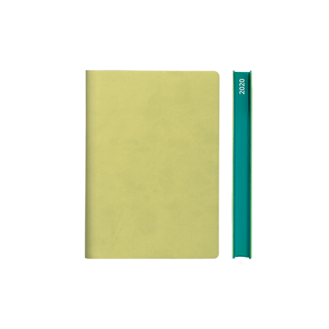 Signature 2021 Page-A-Day Diary (A6, Light Green)
