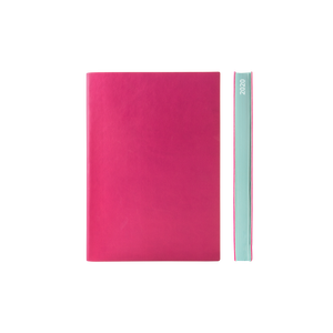 Signature 2020 Page-A-Day Diary (A6, Magenta)
