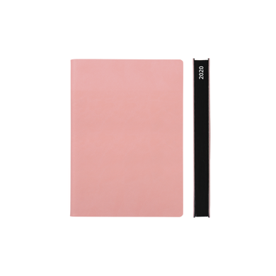 Signature 2020 Page-A-Day Diary (A6, Pink)