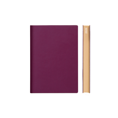 Signature 2020 Page-A-Day Diary (A6, Purple)