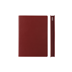 Signature 2020 Page-A-Day Diary (A6, Red)