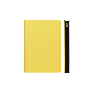 Signature 2020 Page-A-Day Diary (A6, Yellow)