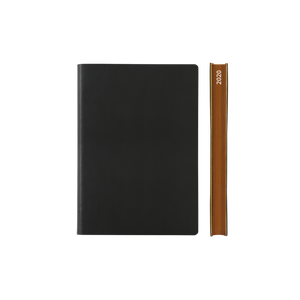 Signature 2020 Page-A-Day Diary (A6, Black)