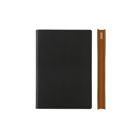 Signature 2021 Page-A-Day Diary (A6, Black)