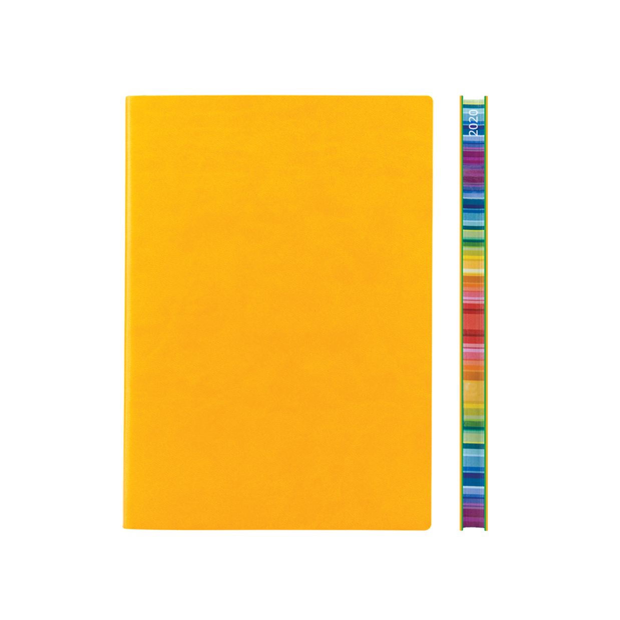 Signature Chromatic 2021 Week-To-View Diary (A5, Yellow)