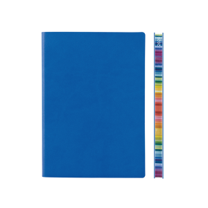 Signature Chromatic 2022 Week-To-View Diary (A5, Blue)