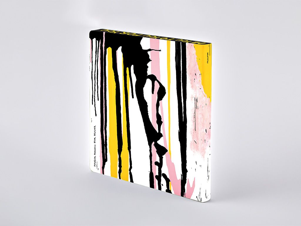Hey You! L Square Notebook by Marija Mandic (LIMITED EDITION)